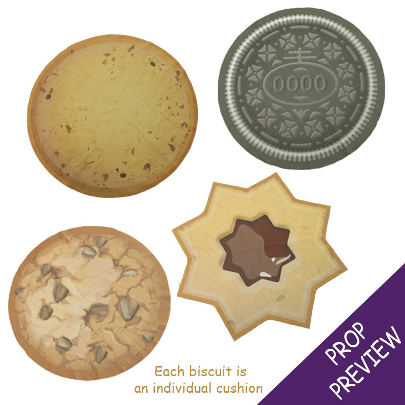 Biscuit Cushion Set of 4