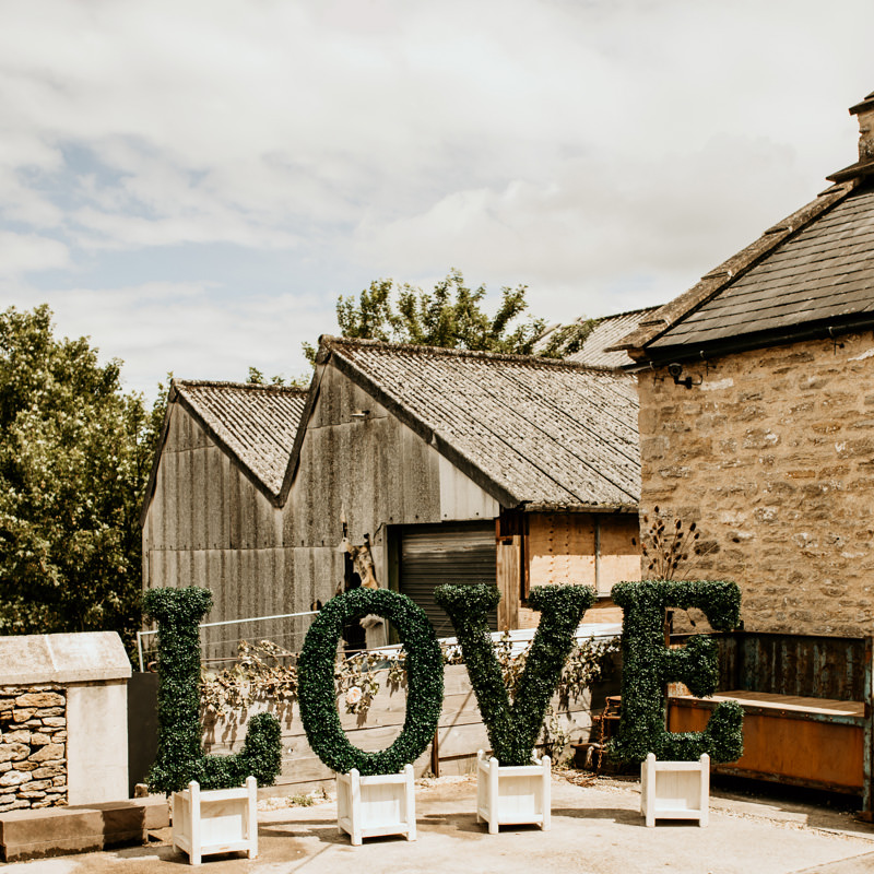 Topiary LOVE Letters