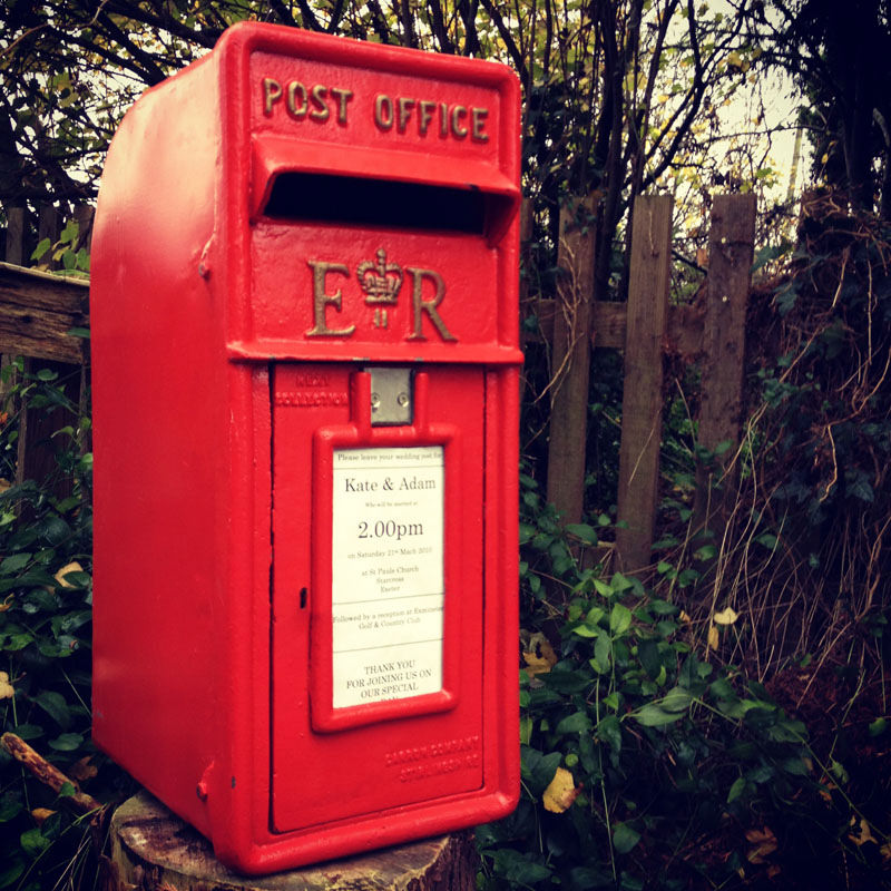 Red RM Postbox  2