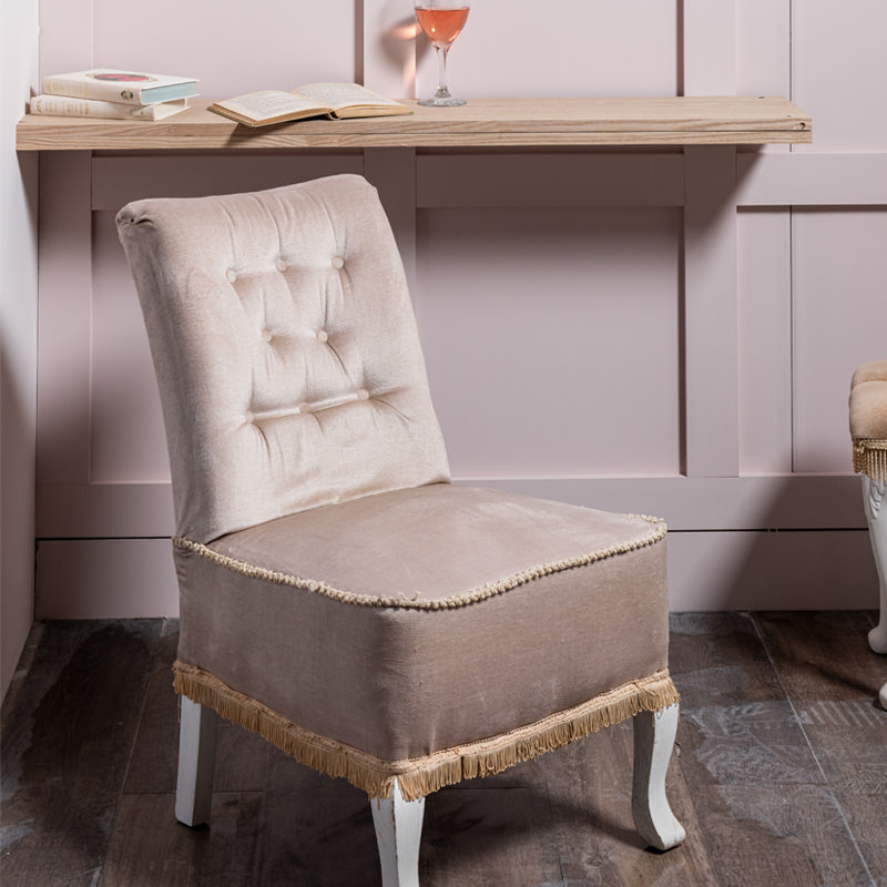 Very Pale Lilac Emily Nursing Chair 1