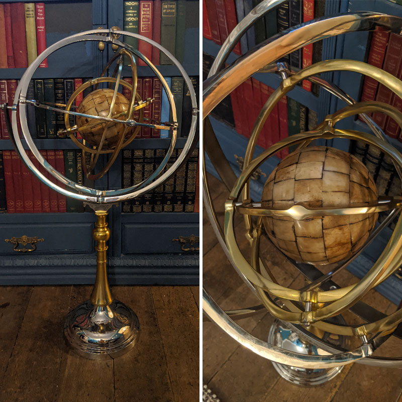 Considerably-Sized Metal Gyroscope