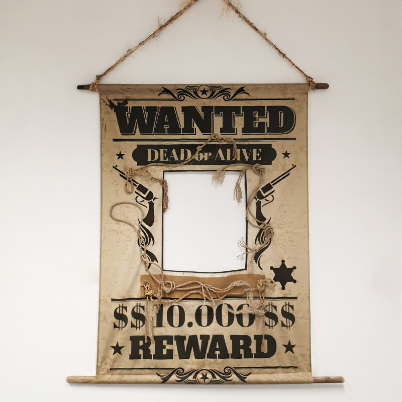 WANTED Peep Board Banner
