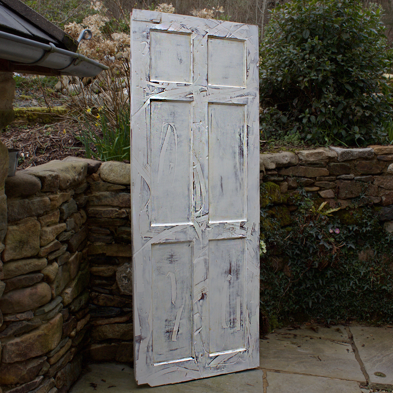White Rustic Door 4