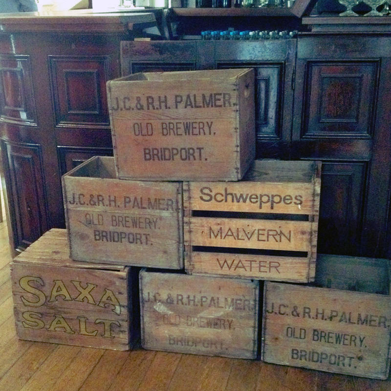 Vintage Wooden Drinks Crate