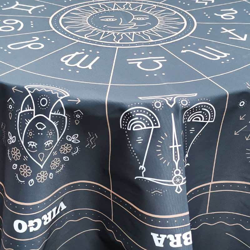Zodiac Fortune Table Cloth 2
