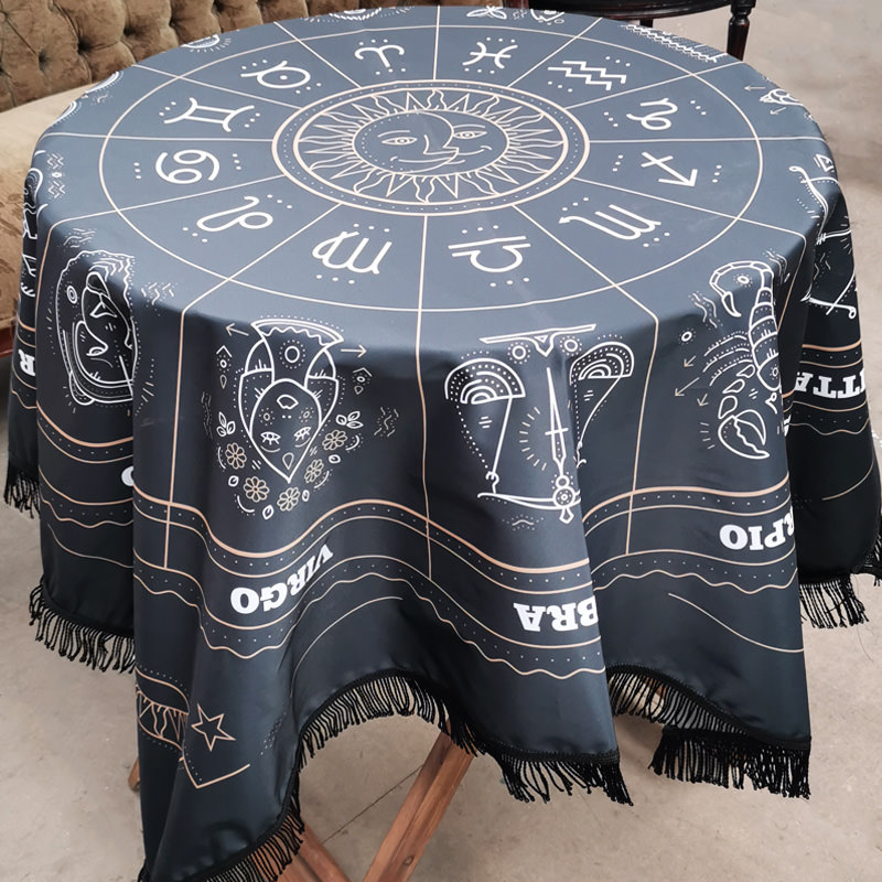 Zodiac Fortune Table Cloth