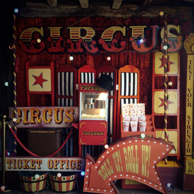 Giant Dark Circus Sign 4