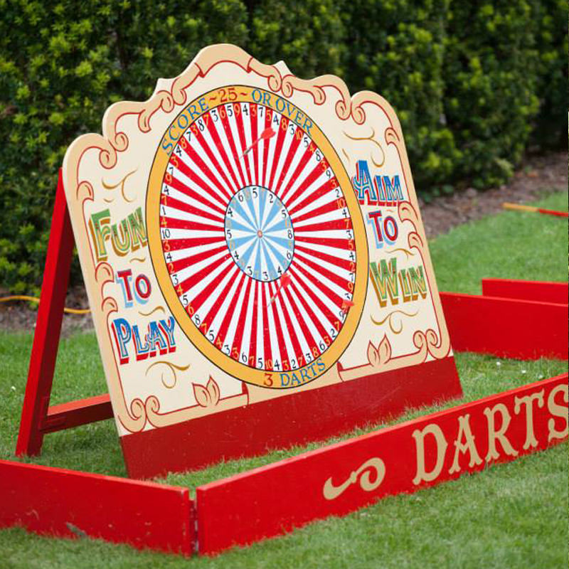 Vintage Well Used Dartboard 3