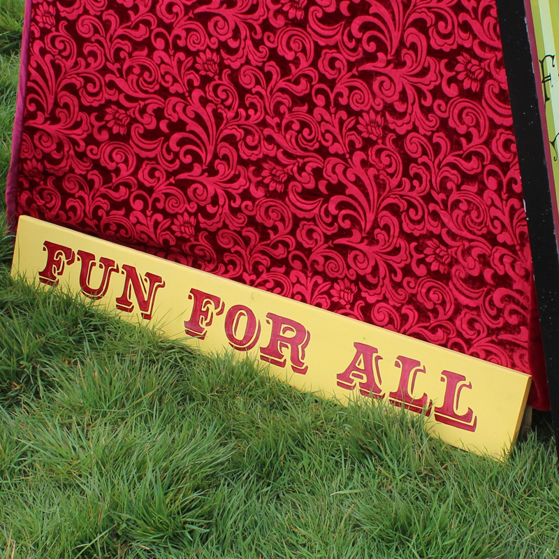 Fun For All Funfair Sign