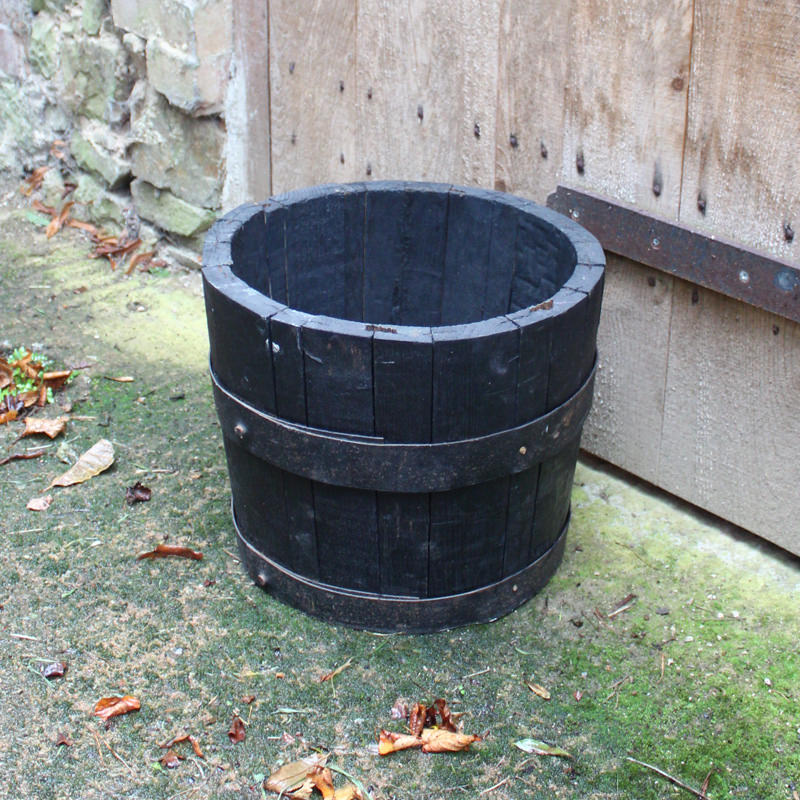 Small Half Rustic Barrel