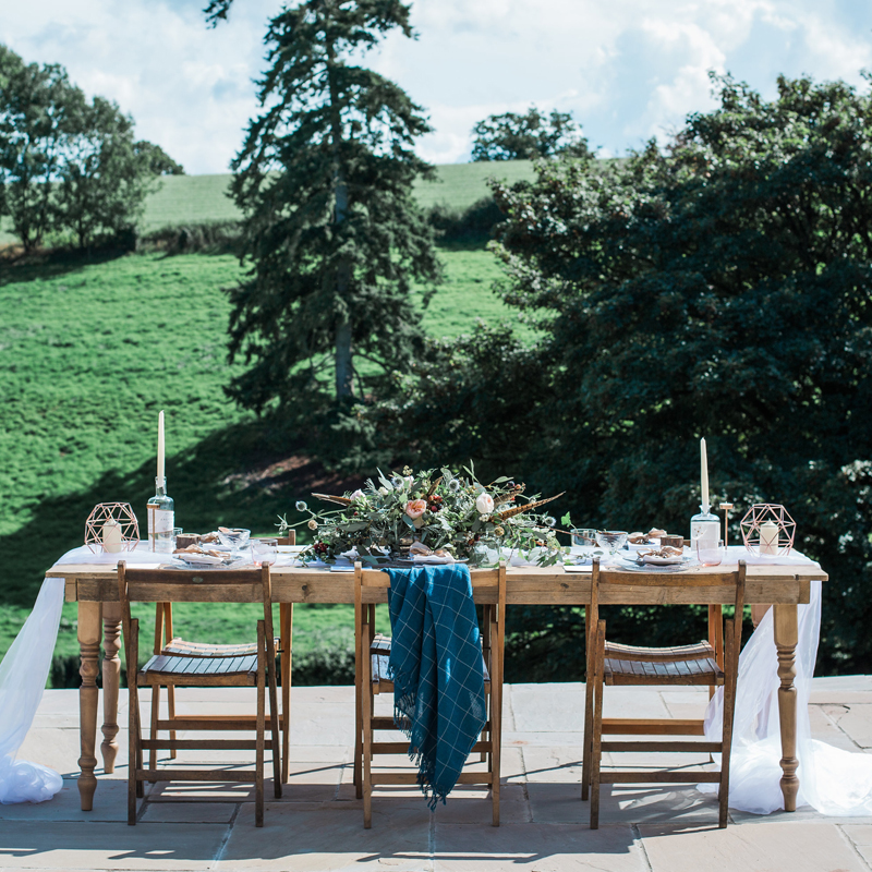 Farmhouse Trestle Table seats 8
