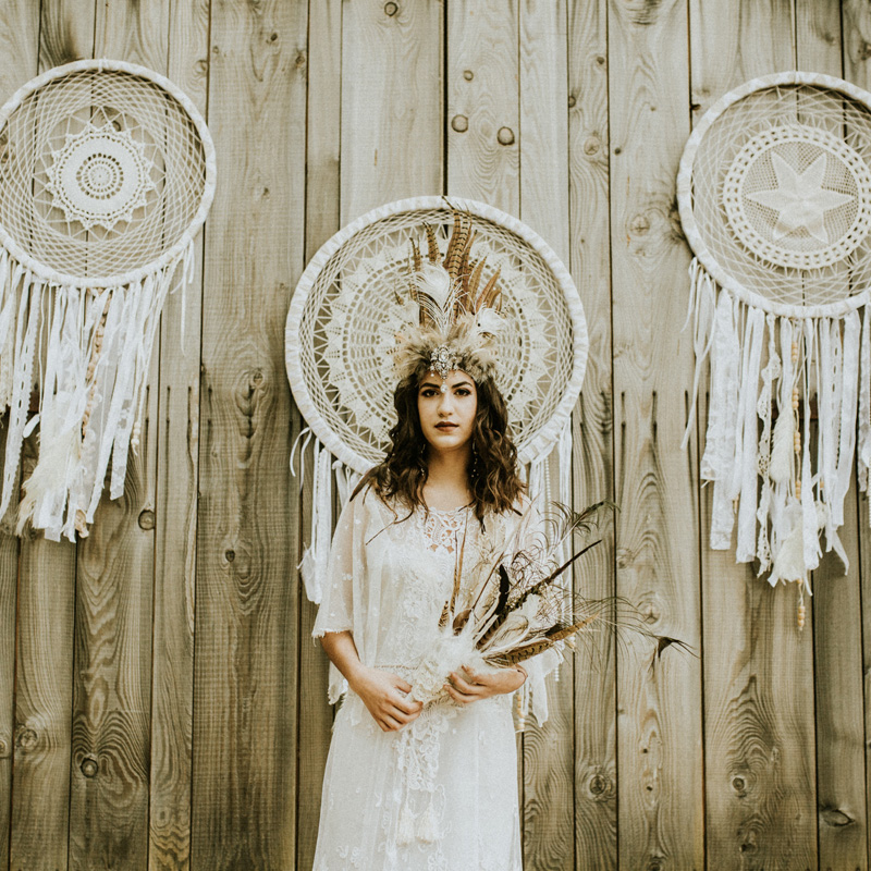 Giant Boho Dreamcatcher  2