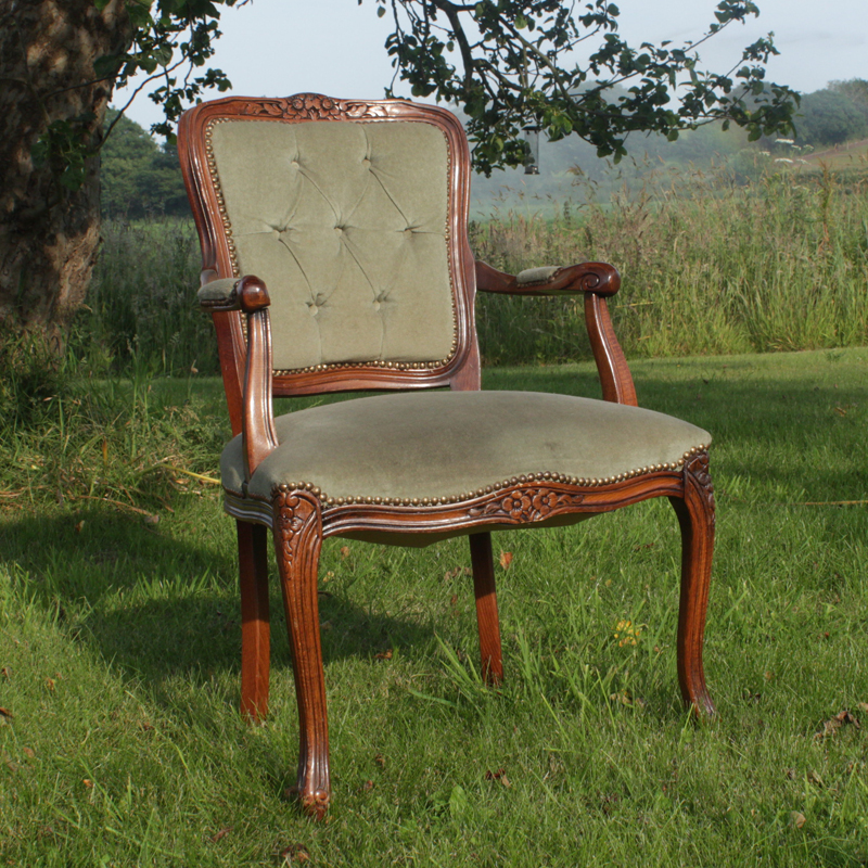 Green Emily Carver Chair