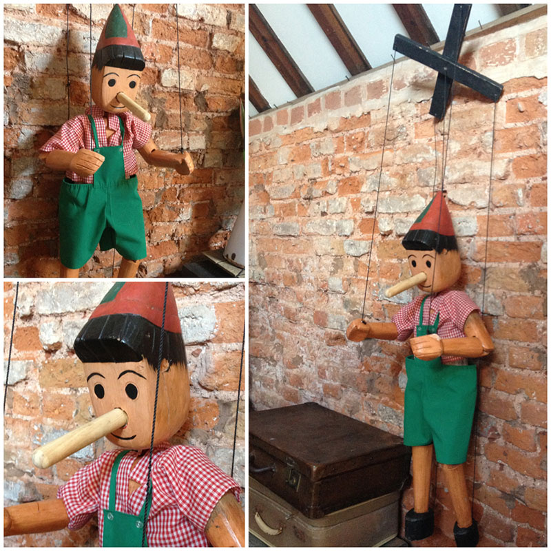 Large Pinocchio Puppet 2