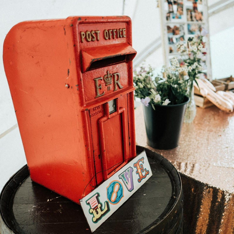 Red RM Postbox  3