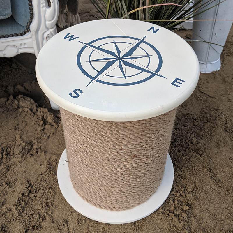 Small Nautical Side Table  1