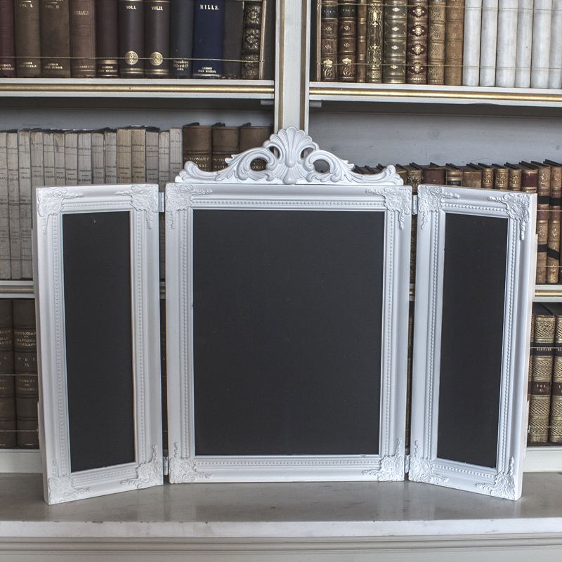 White Dressing Table Chalkboard
