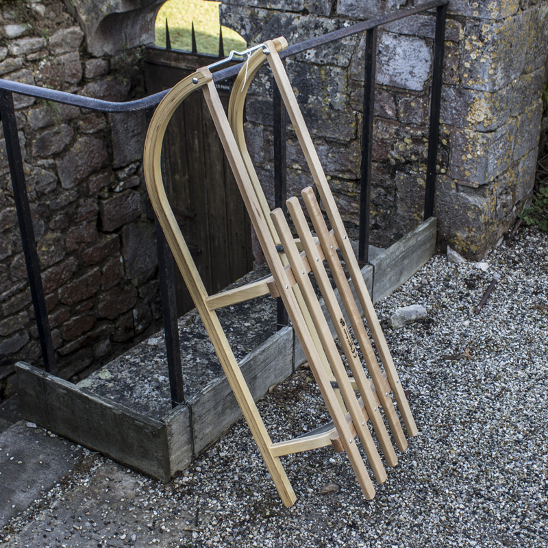 Wooden Vintage Style Sledge 1