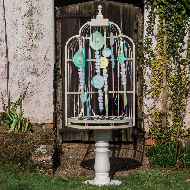 Bird Cage Display Stand 3
