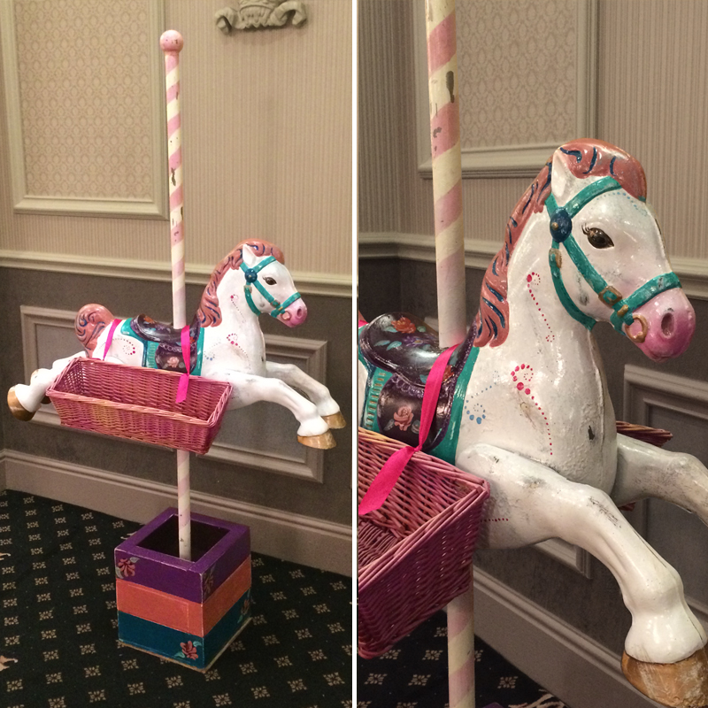 Carousel Horse Sweet Stand 4