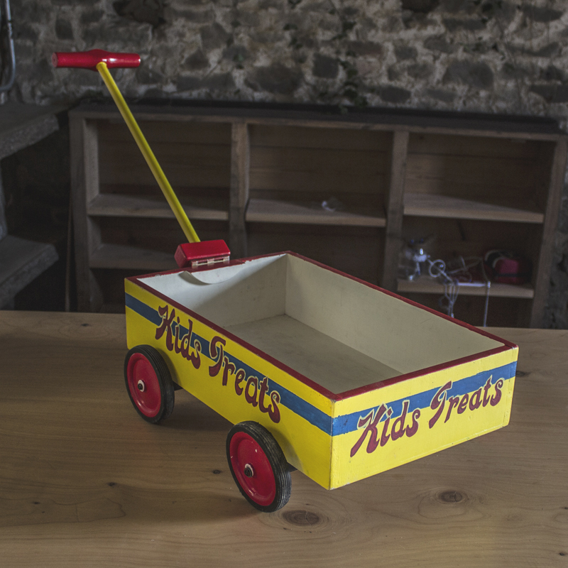 Small Kids Treats Wagon 2
