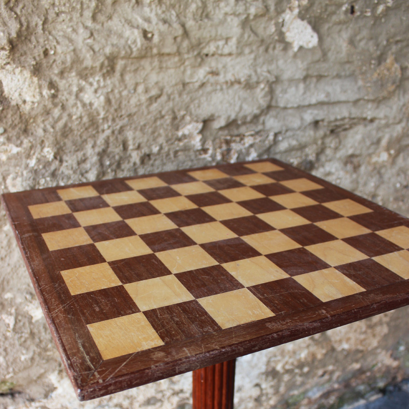 Light Wood Chess Table 2