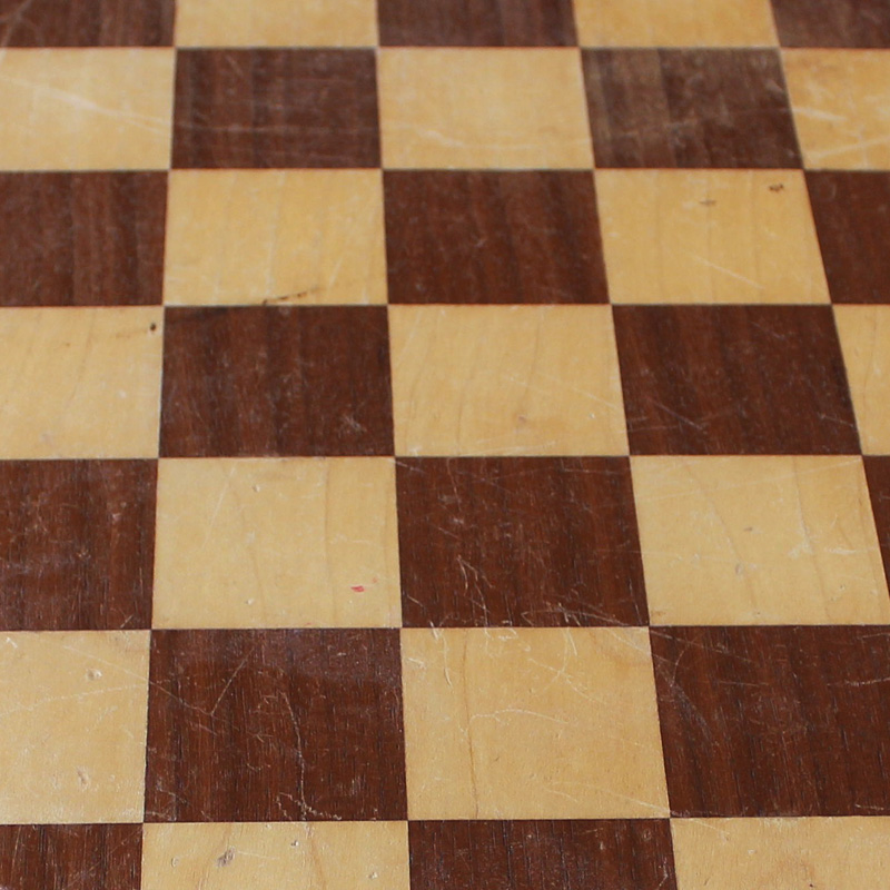 Light Wood Chess Table 3