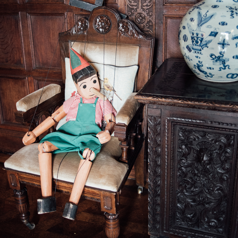 Large Pinocchio Puppet 3