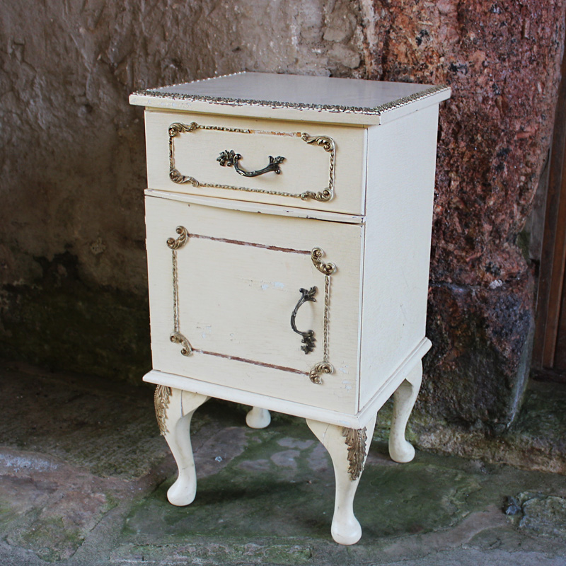 Rococo Cream Side Drawers