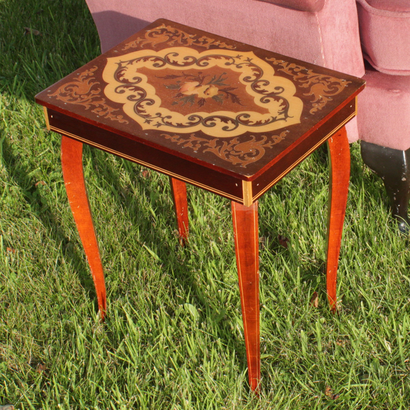 Petite Inlaid Table