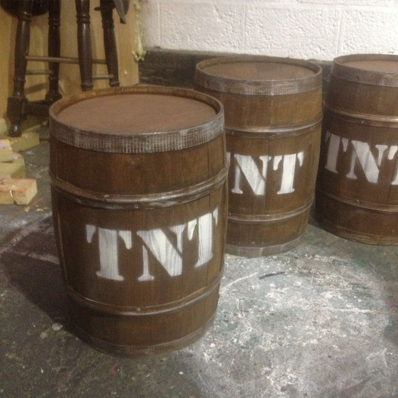 TNT Small Barrel