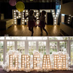 Illuminated Freestanding  Letter  - Discount on multiples