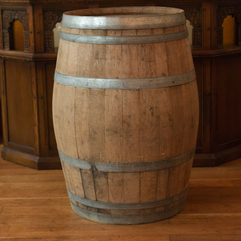 Light Wood Barrel