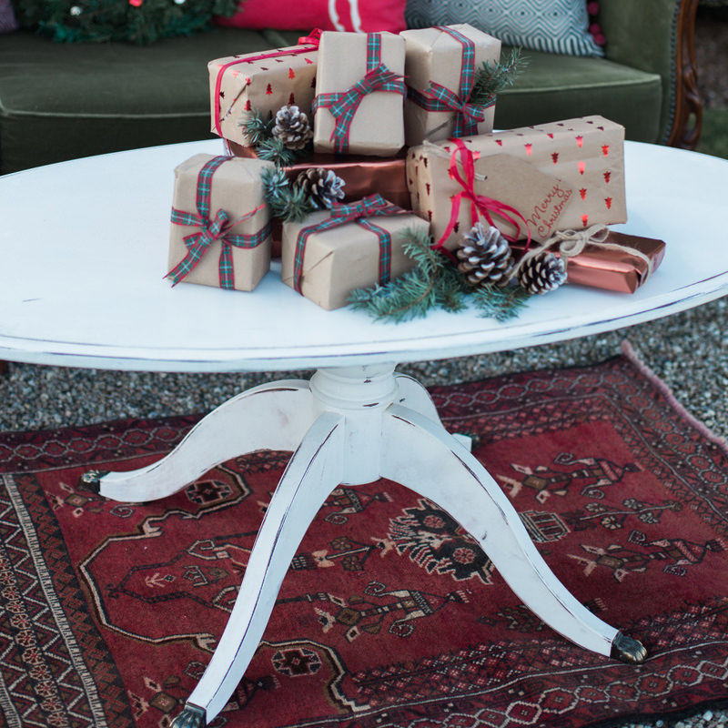 White Oval Coffee Table  4
