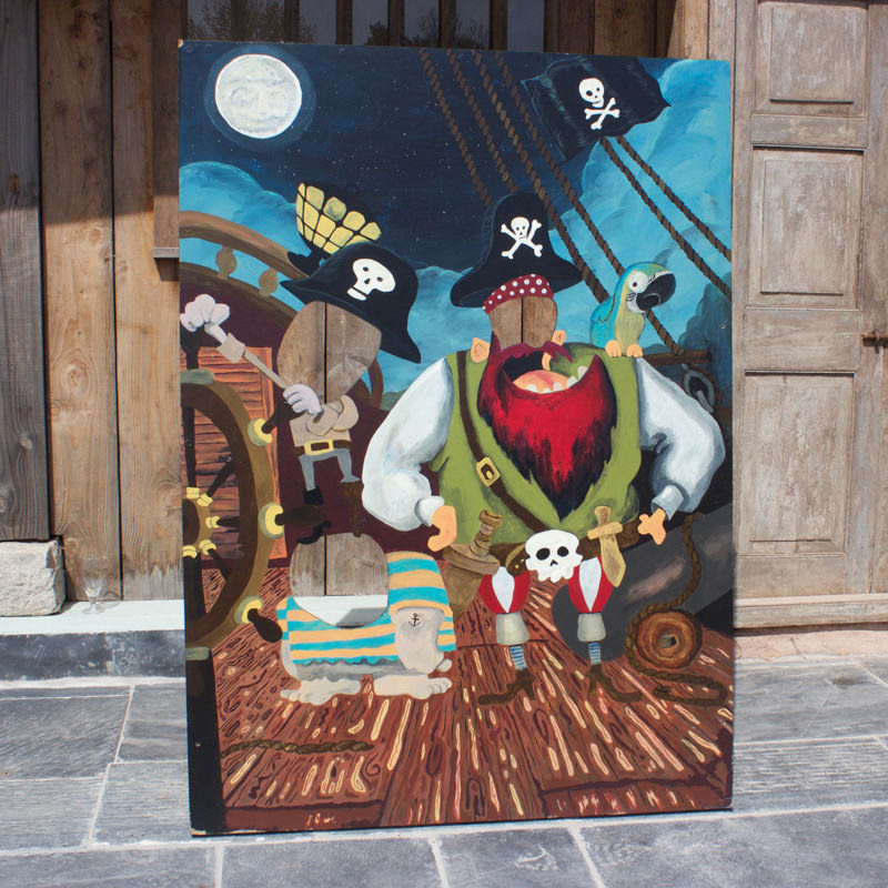 Pirate Peep Board