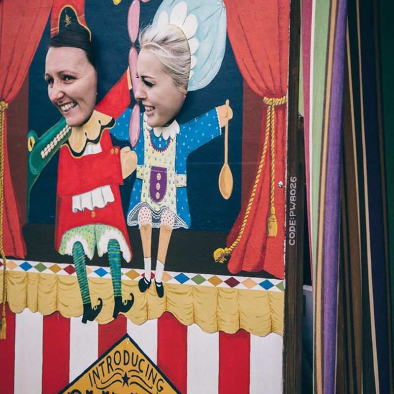 Punch & Judy Peep Board 3