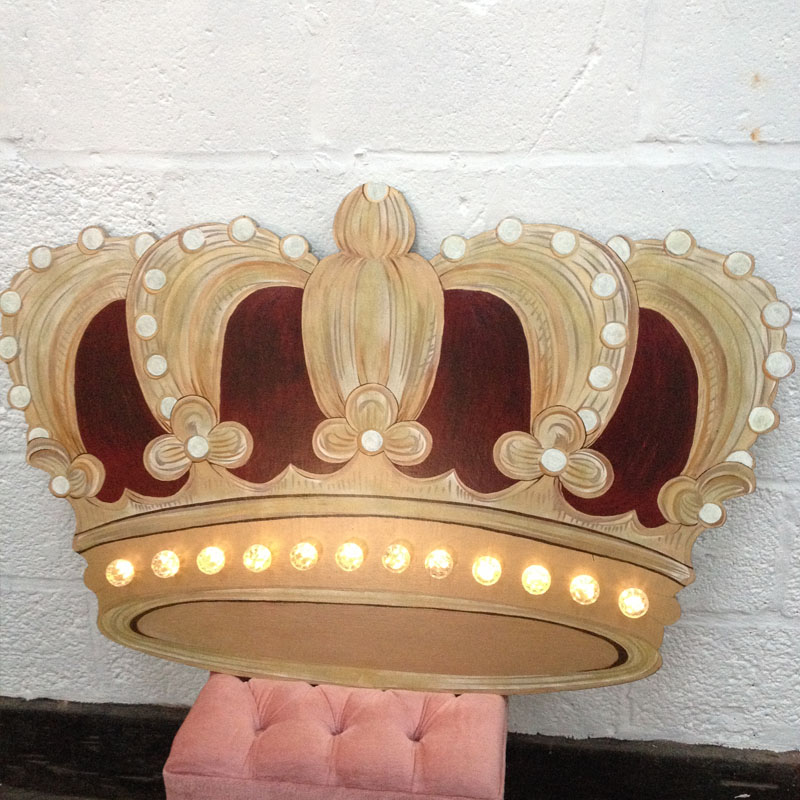 Illuminated Queen Crown