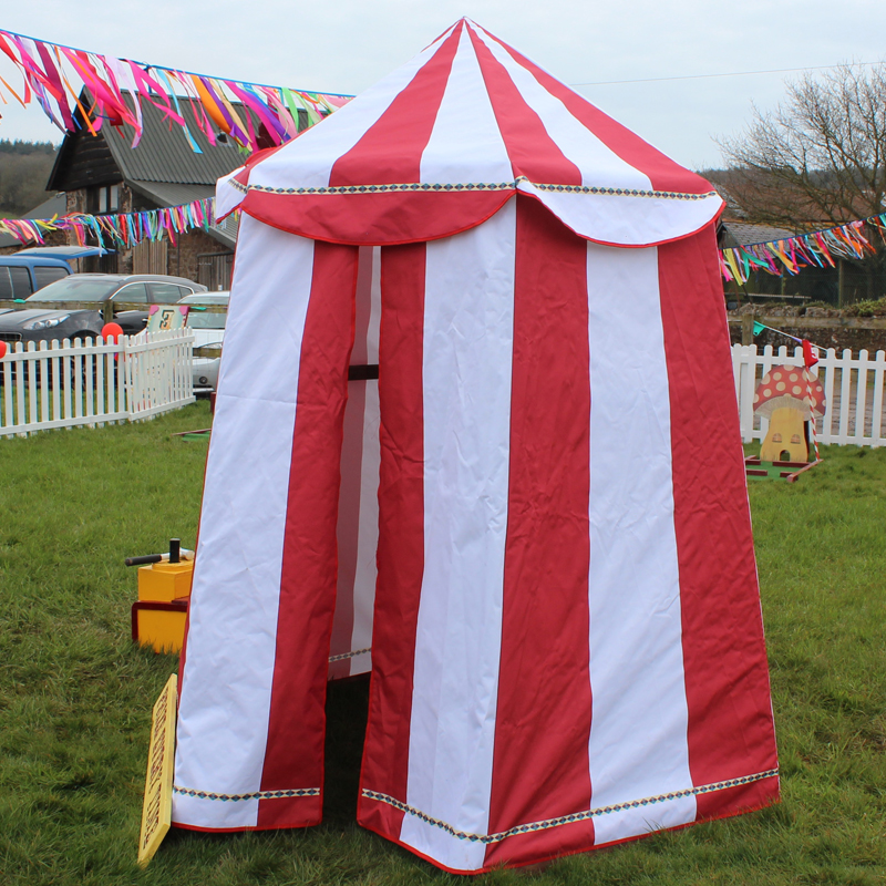 Mini Red and White Circus Tent 3