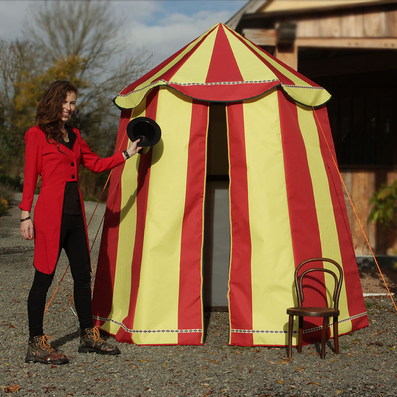 Mini Red and Yellow Circus Tent 3