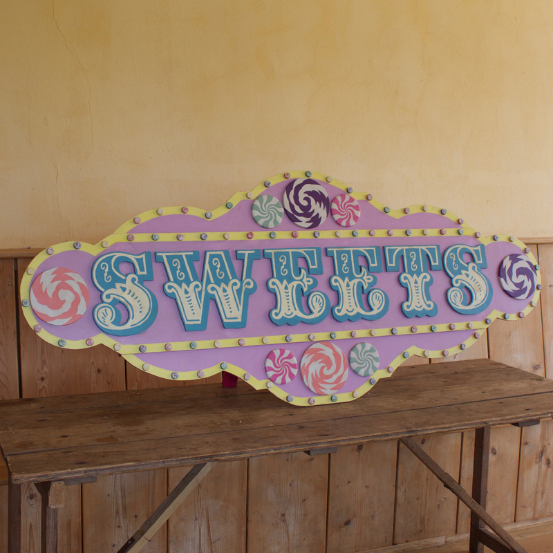 Freestanding Sweets Sign 2