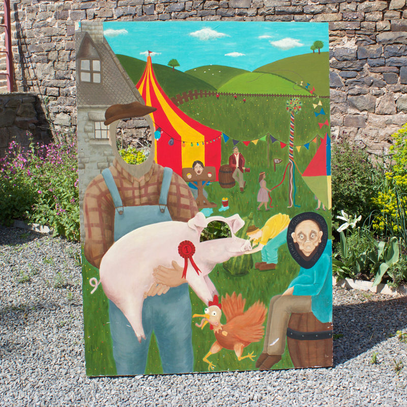 Village Fete Peep Board