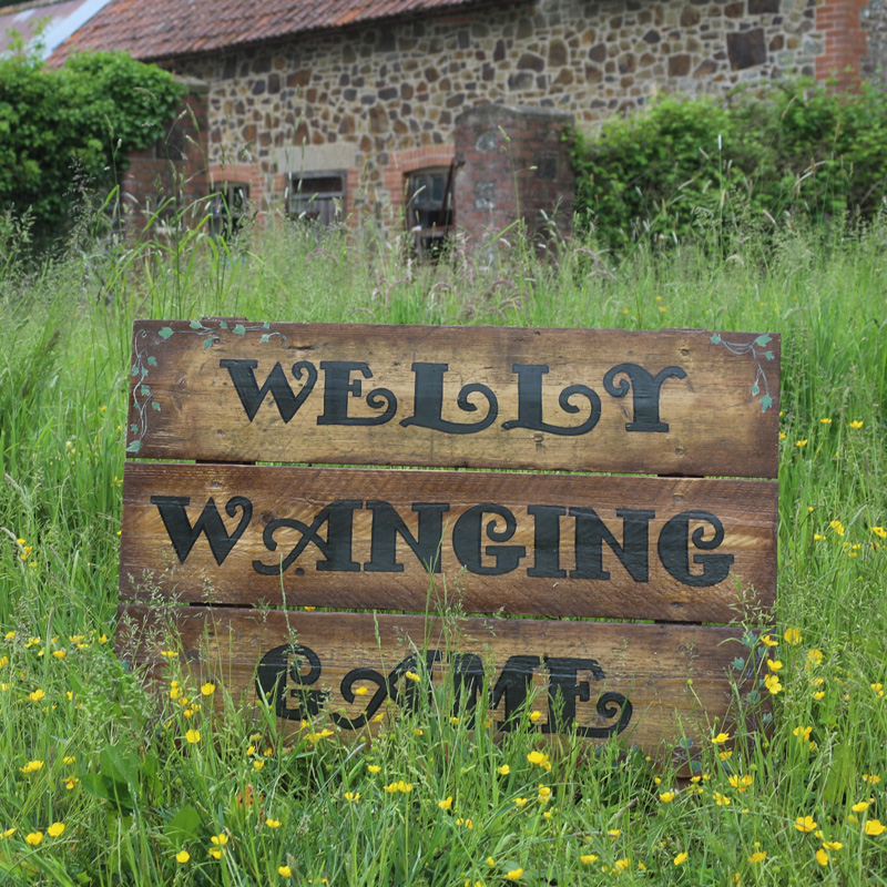 Welly Wanging Sign