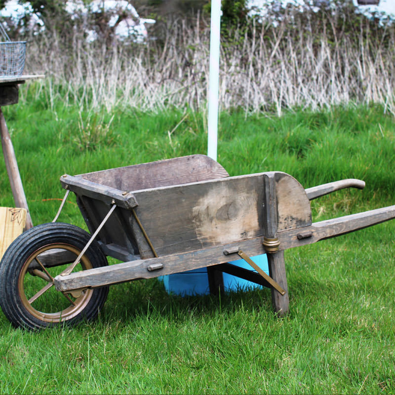 Rustic Wheelbarrow  4